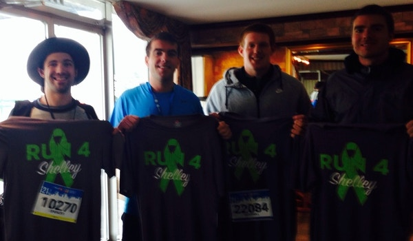 Run For Shelley In Canada! T-Shirt Photo