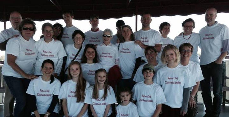 Heldmann Family Reunion On Lake Champlian T-Shirt Photo
