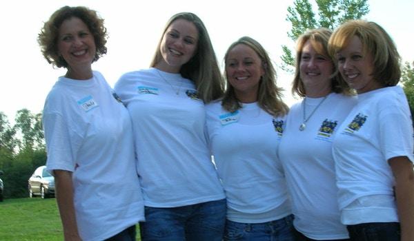 The Beautiful Hertzberg Girls Of Sterling, Michigan! T-Shirt Photo