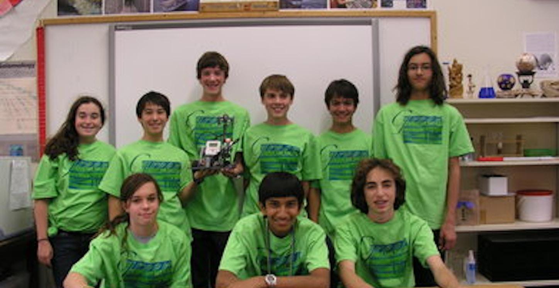 Green Tide Robotics Team T-Shirt Photo