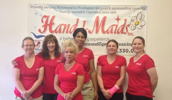 Hand I Maids, Inc.  Master Cleaning Associates T-Shirt Photo