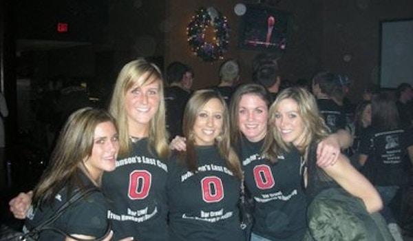 Iowa To Ohio State Transfer Bar Crawl T-Shirt Photo