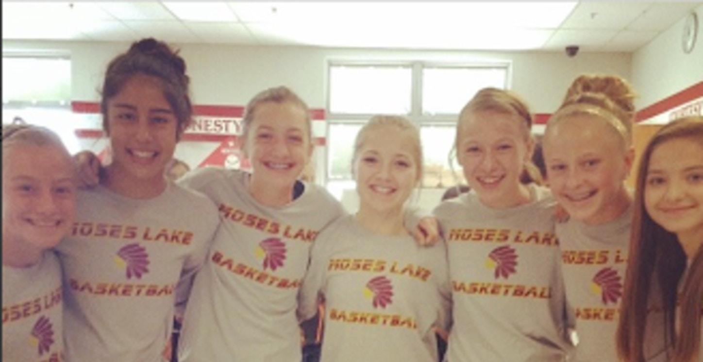 7th Grade Moses Lake Girls Basketball T-Shirt Photo