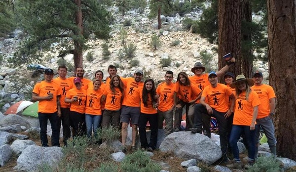 Mount Whitney Hikers  T-Shirt Photo