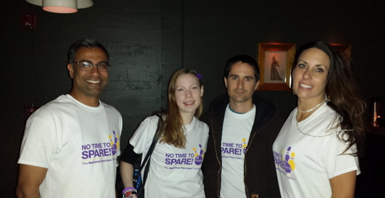 Striking Out Pancreatic Disease T-Shirt Photo
