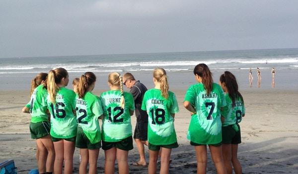 Rsf Attack Girls Beach Soccer T-Shirt Photo