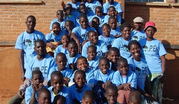 Hope Village Malawi Africa   Helping Orphans Prospering Everyone T-Shirt Photo