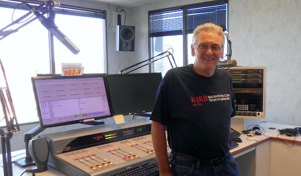 Peter B. Gets Prepared For The Broadcast. T-Shirt Photo