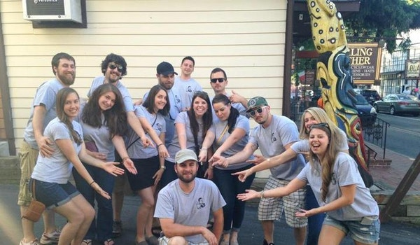 Kenny's 30th Birthday Bar Crawl! T-Shirt Photo