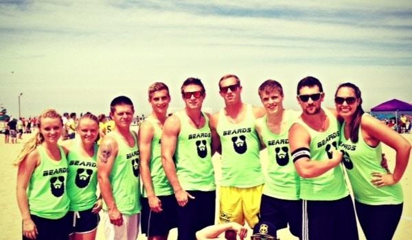 The Beards   Sand Soccer  T-Shirt Photo