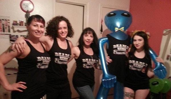 Deadly Sins Burlesque T-Shirt Photo