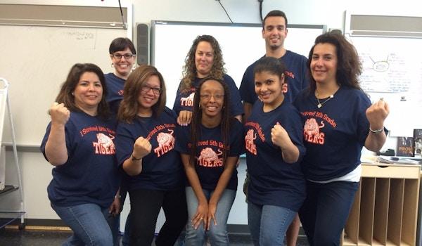 Tiger Teacher Power T-Shirt Photo