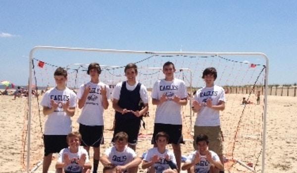 2014 Beach Soccer Tournament At Dewey Beach De T-Shirt Photo