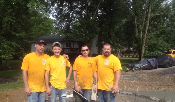 Rob's Special Concrete Guys T-Shirt Photo