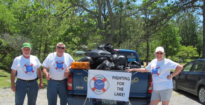 Save Weiss Lake Cowan Creek Clean Up T-Shirt Photo