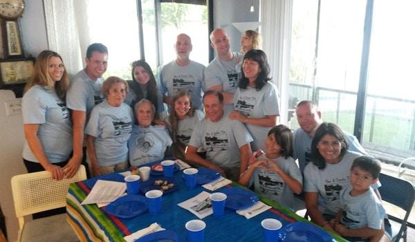 Bev & Dood's 70th Anniversary T-Shirt Photo