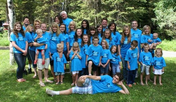 Barney Family Reunion T-Shirt Photo