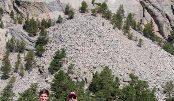 Crouch Crew At Mt. Rushmore T-Shirt Photo