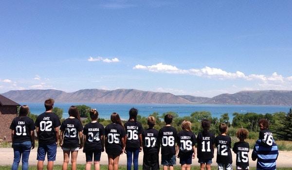 Grandkids At Bear Lake T-Shirt Photo