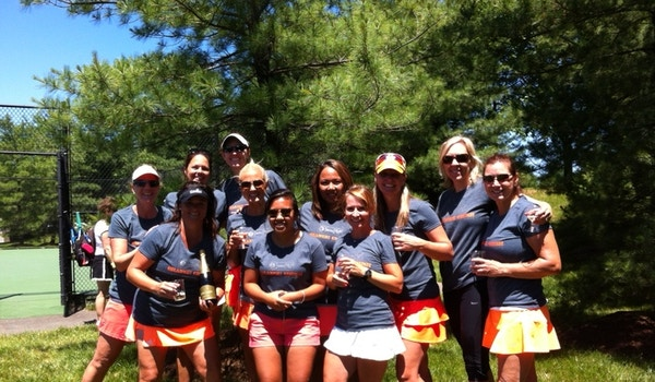 Orange Crush Tennis Team! T-Shirt Photo