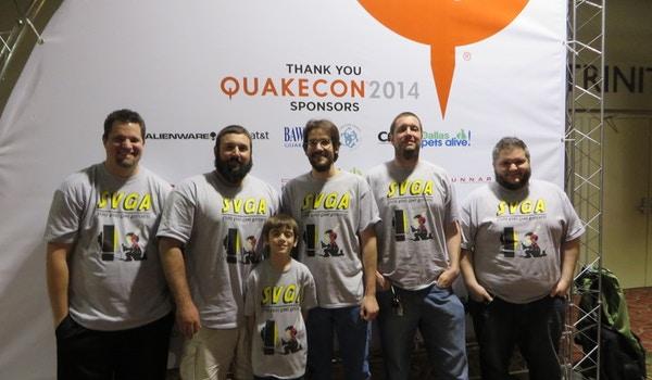 Svga At Quake Con 2014 T-Shirt Photo