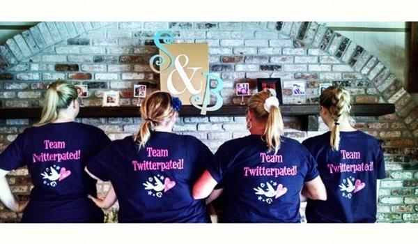 'twitterpated Weddings' Wedding Planners  T-Shirt Photo