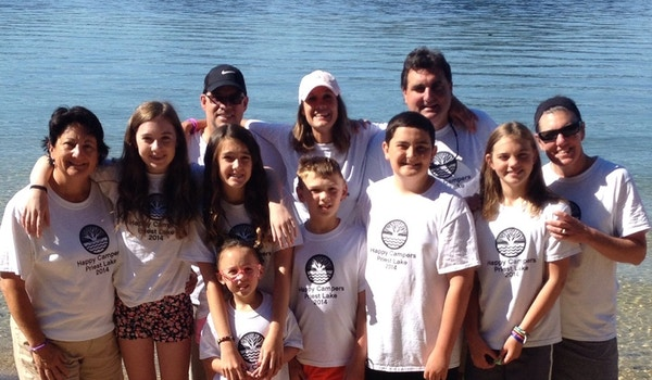 Happy Campers @ Priest Lake T-Shirt Photo