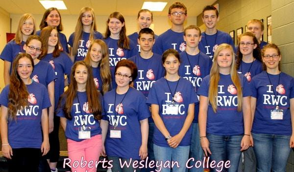 We Heart Rwc And Custom Ink! T-Shirt Photo