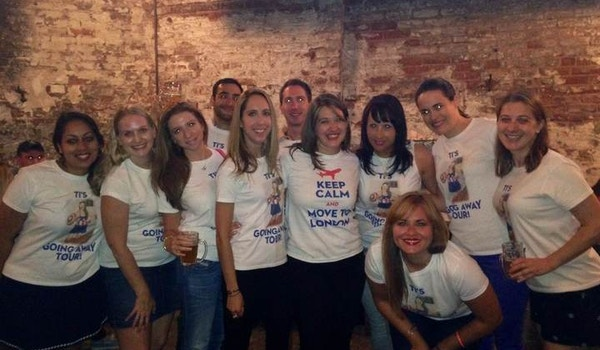 From The Big Apple To The Big Ben! T-Shirt Photo