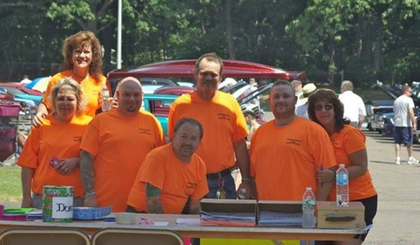 Wings Of Hope For David Gagnon Cancer Benefit Car Show T-Shirt Photo