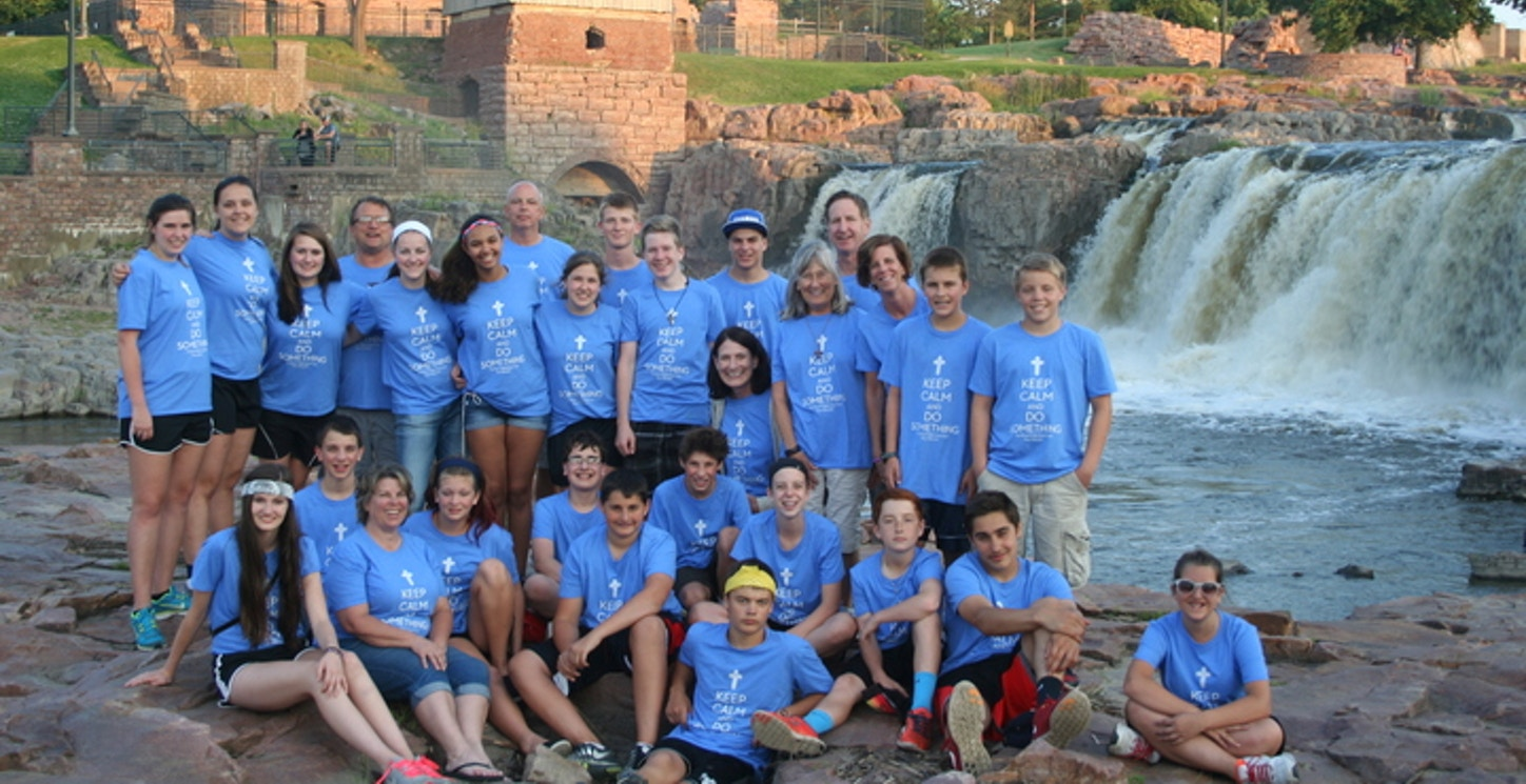 Pax Christi Middle School Youth Mission Trip 2014 T-Shirt Photo