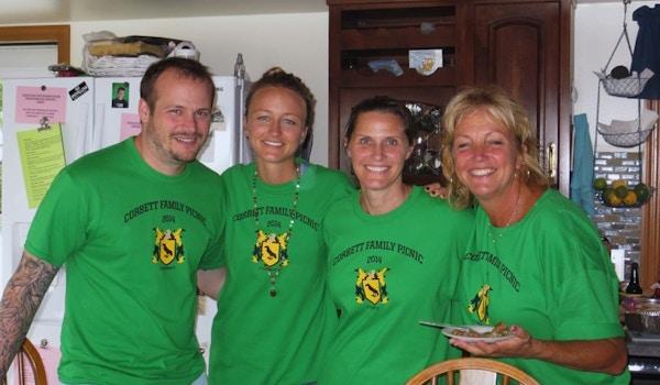 Corbett Family Picnic 2014 T-Shirt Photo