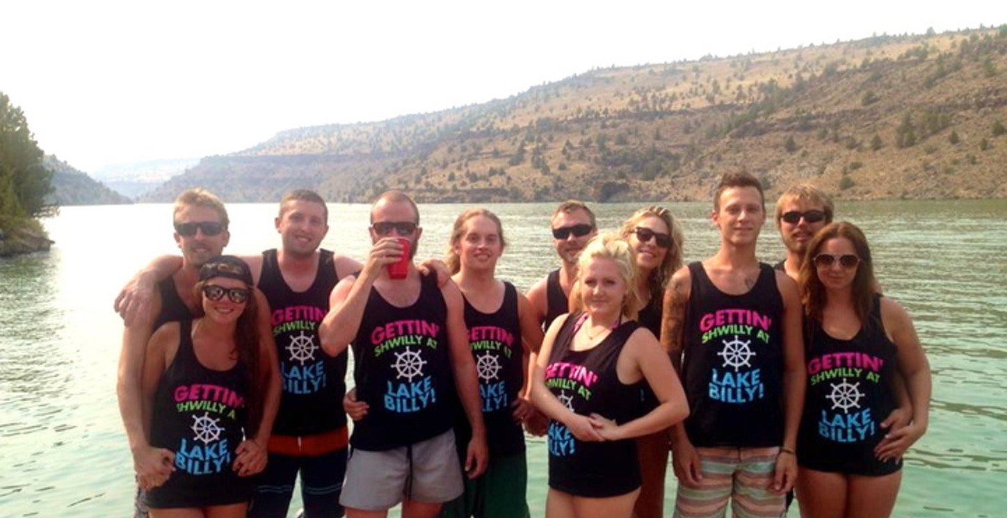 We Got Silly At Lake Billy T-Shirt Photo