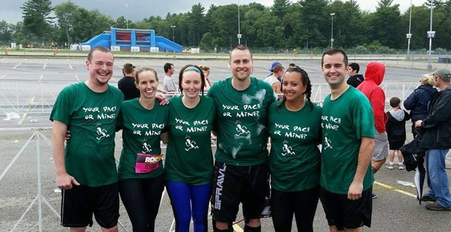"""Team """"Your Pace Or Mine?"""" T-Shirt Photo"""