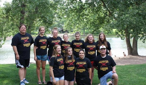 Ne Dist. 5 14 U Fast Pitch Champions T-Shirt Photo