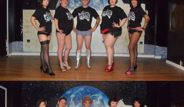 Steel City Cabaret Shows Off The Goods! T-Shirt Photo