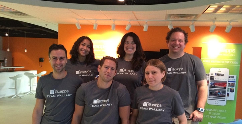 App Team Wallaby! T-Shirt Photo