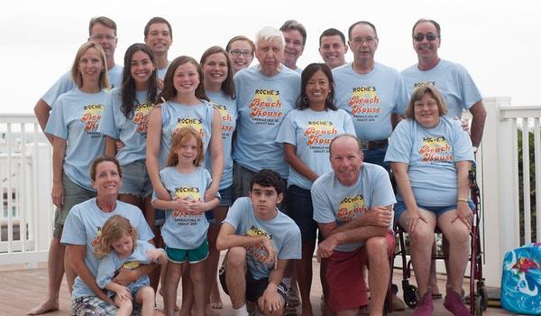 Family Reunion 8/2/2014   8/9/2014 Emerald Isle, Nc T-Shirt Photo