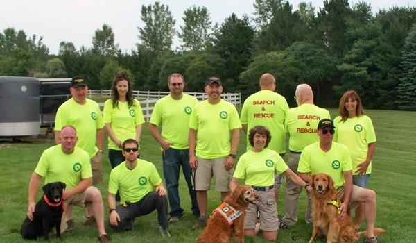 Massasauga Search & Rescue Team T-Shirt Photo