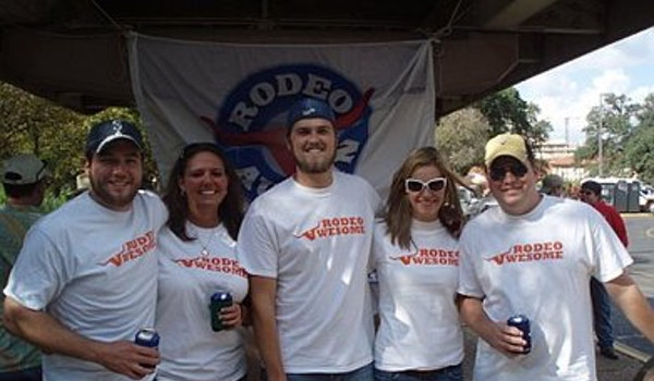 Rodeo Austin Or Rodeo Awesome T-Shirt Photo