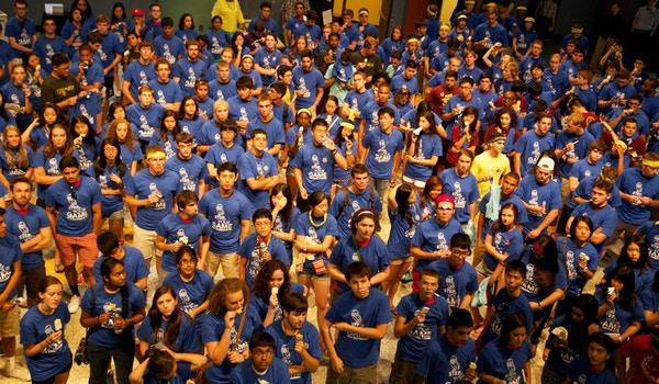 Freshmen Engineers At Rice University O Week T-Shirt Photo