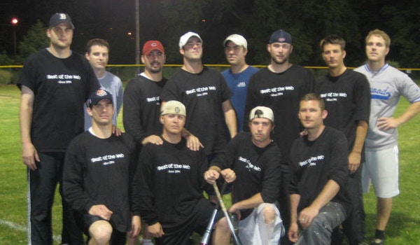The Best Of The Web! Softball Team T-Shirt Photo