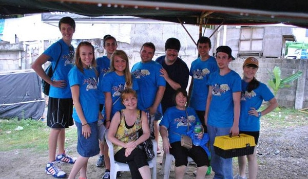 First Grace Philippines Relief Team T-Shirt Photo
