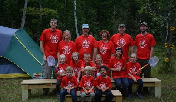 Annual Cousin Camp In Northern Wi. T-Shirt Photo