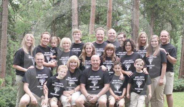50th Wedding Anniversary Celebration T-Shirt Photo