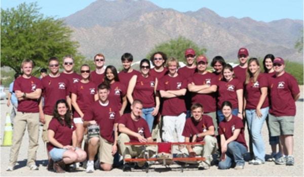 Virginia Tech's Design Build Fly Team T-Shirt Photo