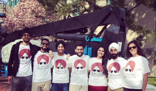 Bu Sikh Association T-Shirt Photo