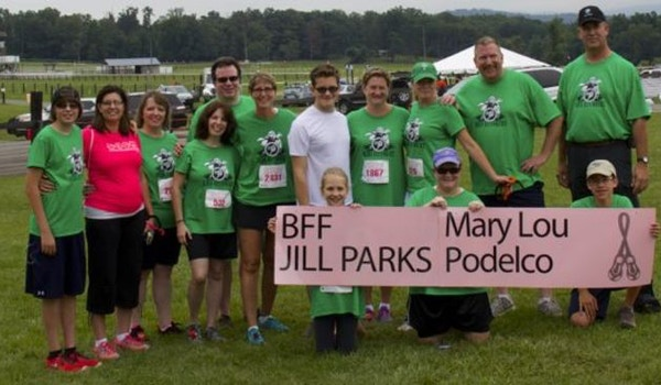 Team Jill Boob Defenders T-Shirt Photo