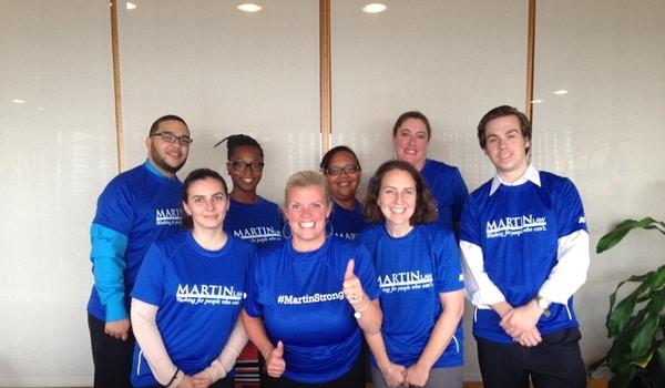 Martin Law Health And Wellness Winning Team: Flab U Less! T-Shirt Photo