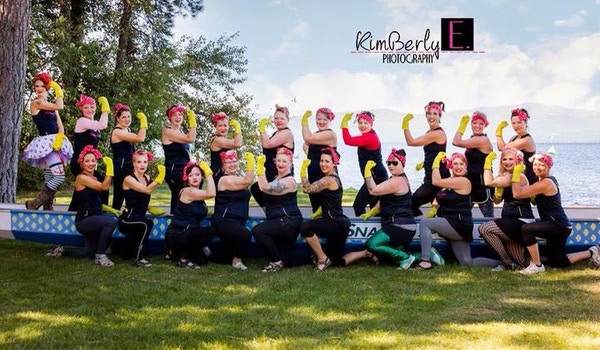 Rosie Riveter's 2014 Dragon Boat Women's Division Team T-Shirt Photo